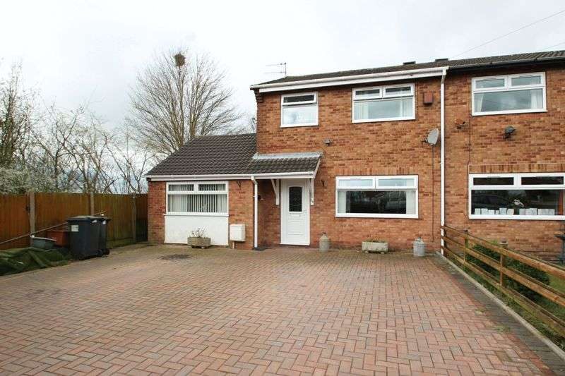 4 Bedrooms Semi Detached House for sale in Tawney Close, Kidsgrove