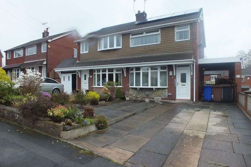 3 Bedrooms Semi Detached House for sale in New Hayes Road, Tunstall, Stoke-On-Trent