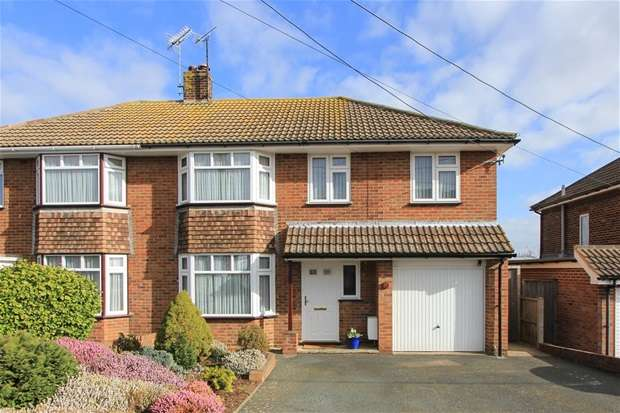3 Bedrooms Semi Detached House for sale in Bridgefield Road, Tankerton, Whitstable