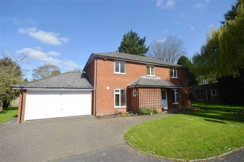 4 Bedrooms Detached House for sale in Cranford House, 4, Presbytery Close, Leominster, HR6