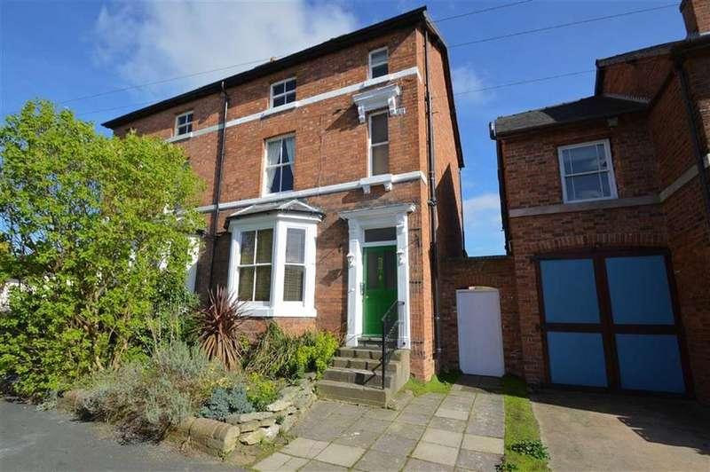 4 Bedrooms Semi Detached House for sale in Oak Street, Belle Vue, Shrewsbury