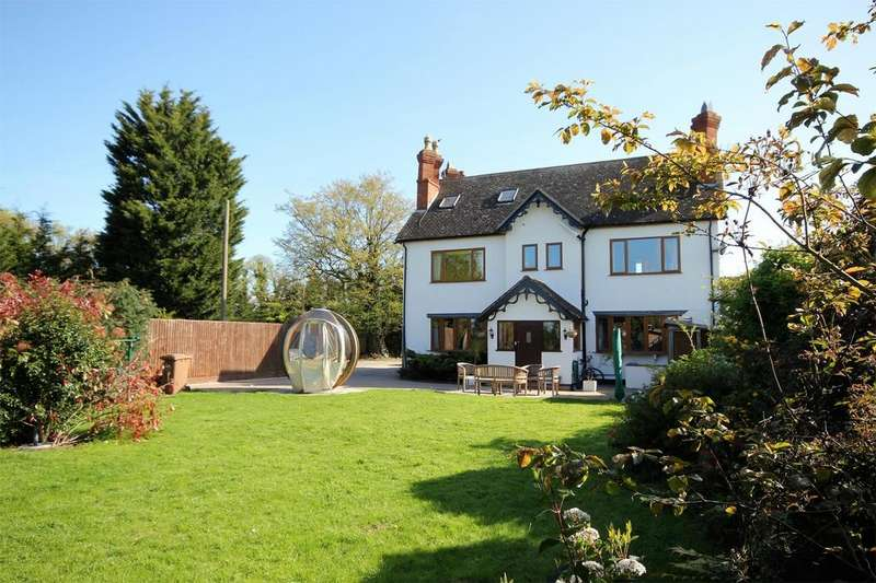 5 Bedrooms Detached House for sale in Malvern Road, Powick, Worcester
