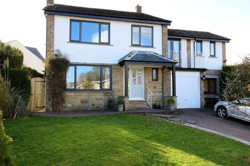 4 Bedrooms Detached House for sale in The Narrows, Harden, Bingley