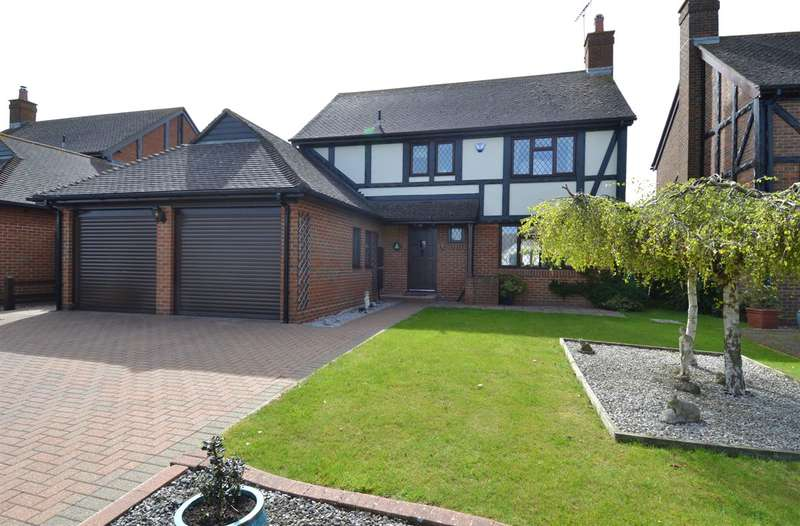4 Bedrooms Detached House for sale in Polo Way, Chestfield, Whitstable