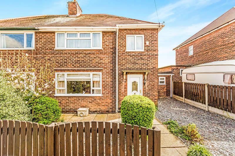 3 Bedrooms Semi Detached House for sale in Fell Wilson Street, Warsop, Mansfield, NG20