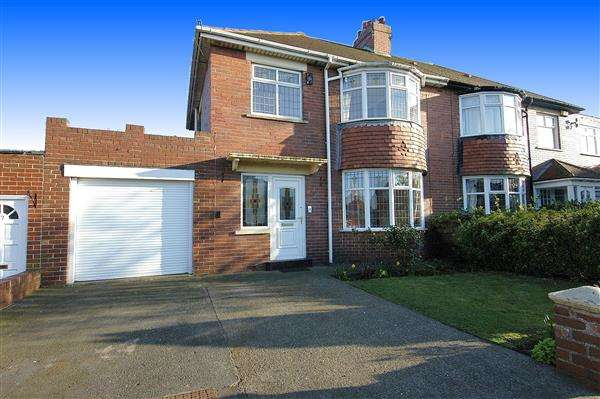 3 Bedrooms Semi Detached House for sale in Hartburn Road, Marden