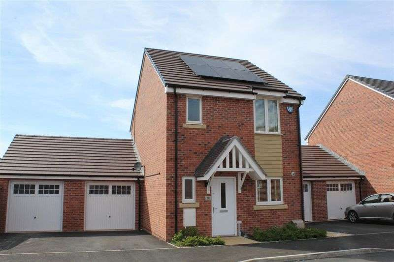 3 Bedrooms Detached House for sale in Proctor Drive, Weston-Super-Mare