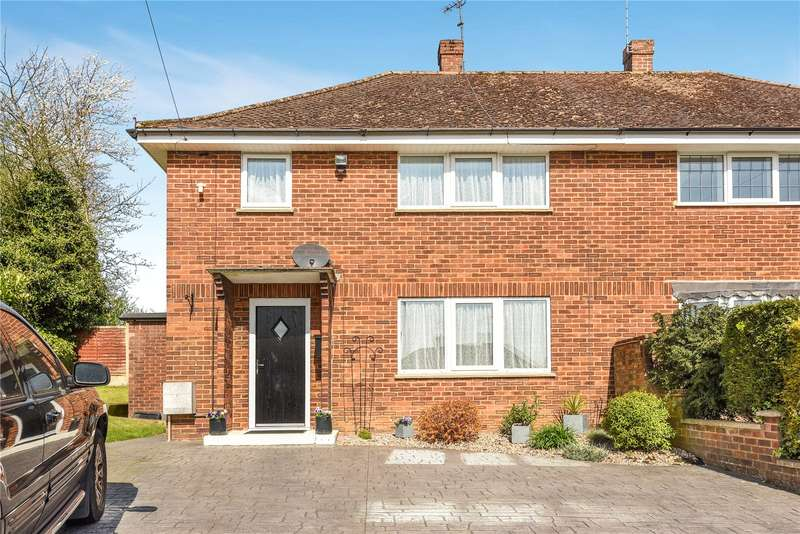 3 Bedrooms Semi Detached House for sale in Oakhill Road, Maple Cross, Hertfordshire, WD3