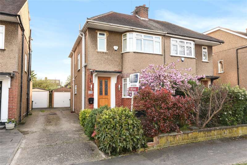 3 Bedrooms Semi Detached House for sale in Glebe Avenue, Ickenham, Uxbridge, Middlesex, UB10