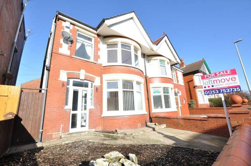 3 Bedrooms Semi Detached House for sale in Reads Avenue, Blackpool, Lancashire, FY1 4JH