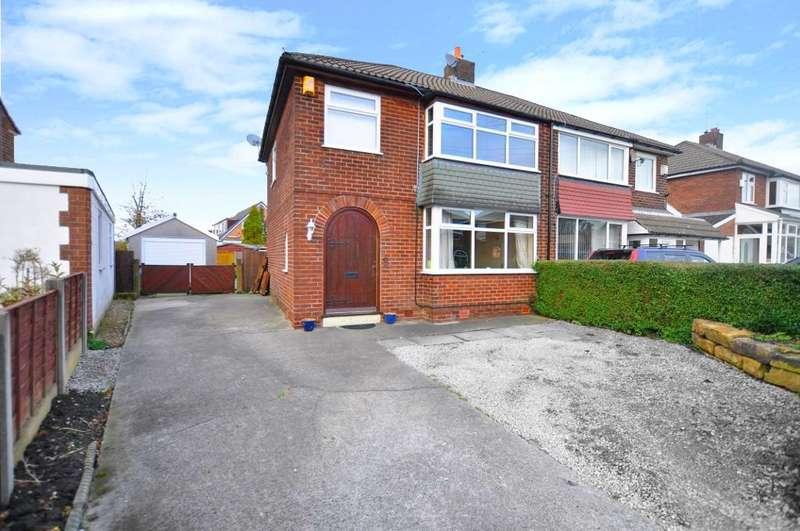 3 Bedrooms Semi Detached House for sale in St Mary's Avenue, Walton-le-Dale, Preston, Lancashire, PR5 4UE
