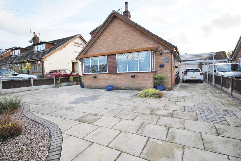 3 Bedrooms Detached Bungalow for sale in Parkstone Avenue, Thornton, Cleveleys, Lancashire, FY5 5AE
