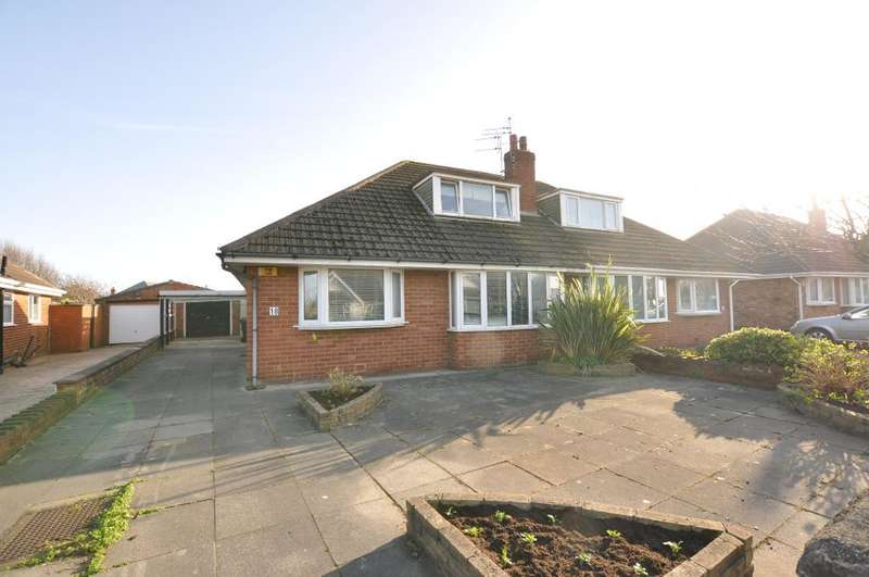 3 Bedrooms Semi Detached Bungalow for sale in Folkestone Road, St Annes, Lytham St Annes, Lancashire, FY8 3EQ