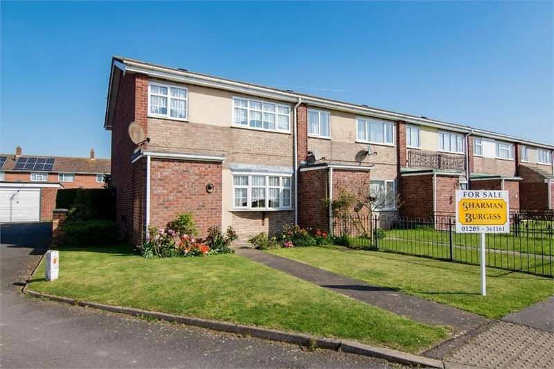 3 Bedrooms End Of Terrace House for sale in Ward Crescent, Fishtoft, Boston, Lincolnshire