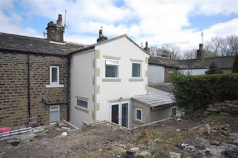 3 Bedrooms Cottage House for sale in Rock View, Station Road, Holywell Green, HX4