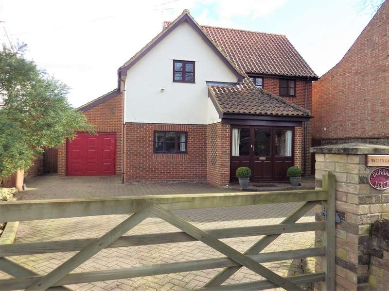 4 Bedrooms Detached House for sale in Ixworth Road, Norton IP31
