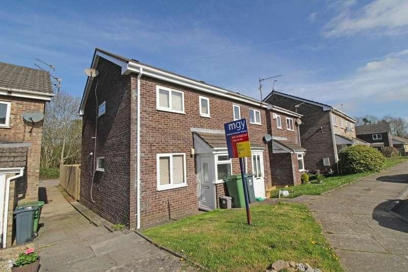 2 Bedrooms Semi Detached House for sale in Bryn Derwen, Radyr