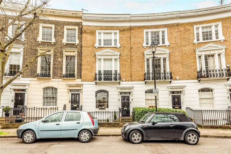3 Bedrooms Terraced House for sale in Thornhill Square, Islington, London, N1