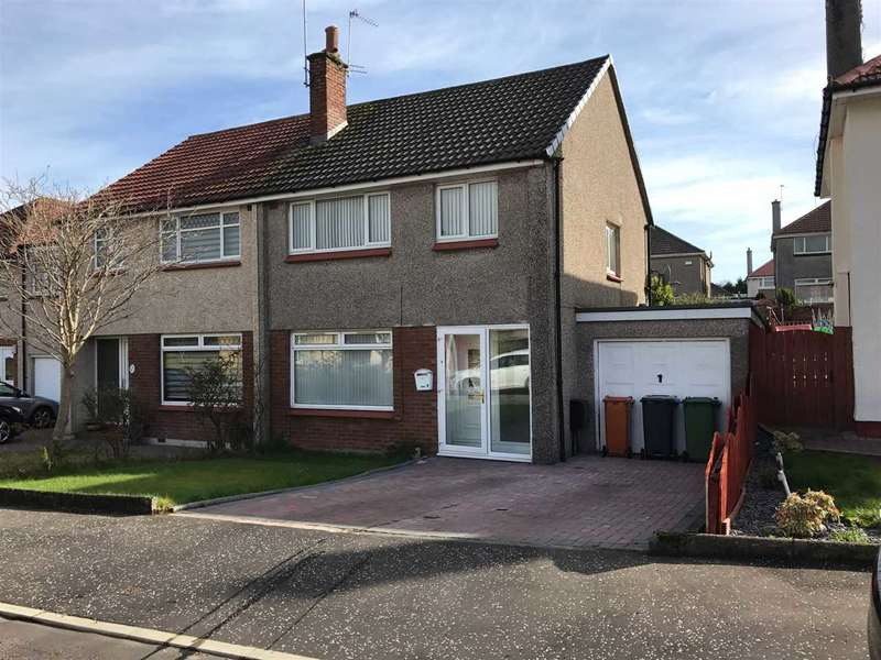 3 Bedrooms Semi Detached House for sale in Rannoch Gardens, Bishopbriggs