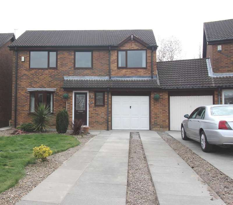 4 Bedrooms Detached House for sale in Ingham Grove, Northburn Glade, Cramlington