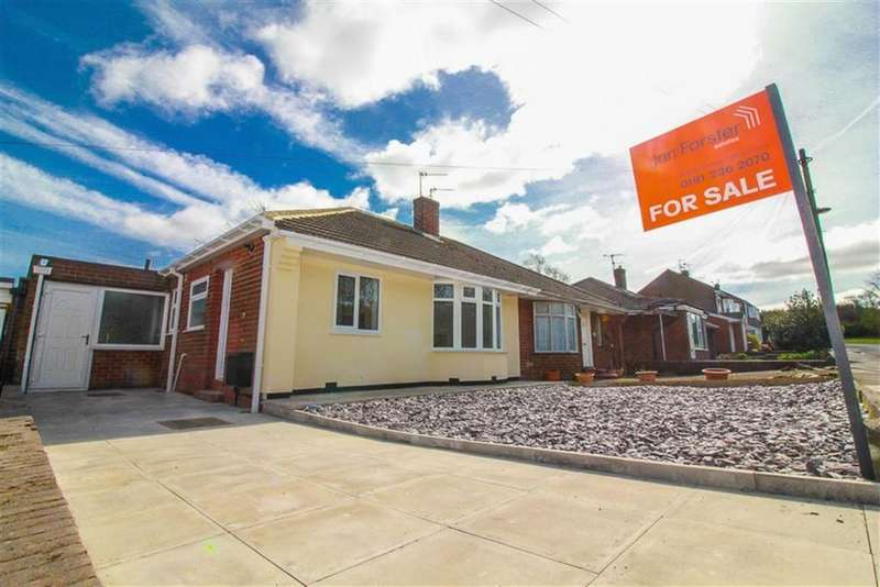 2 Bedrooms Semi Detached Bungalow for sale in Cranwell Drive, Newcastle Upon Tyne, NE13