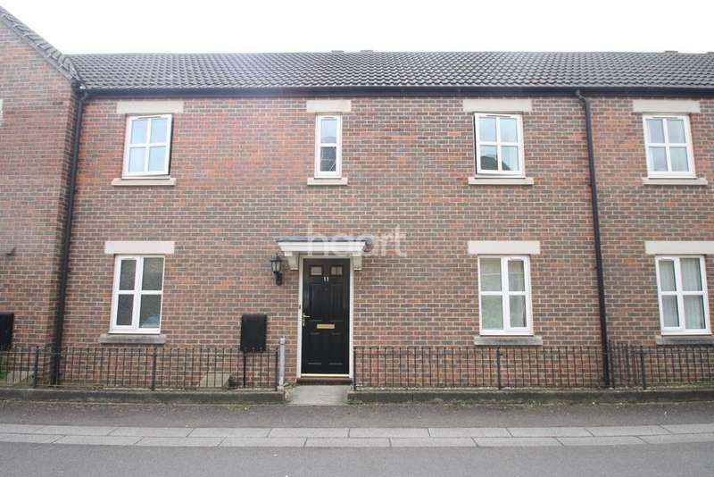 4 Bedrooms Terraced House for sale in Geoffrey Farrant Walk, Taunton