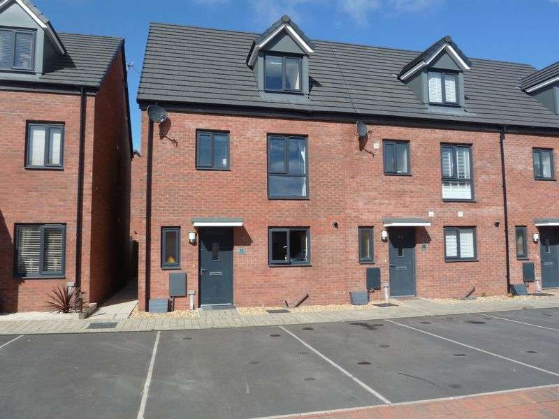 4 Bedrooms Semi Detached House for sale in Haven Walk, Barry