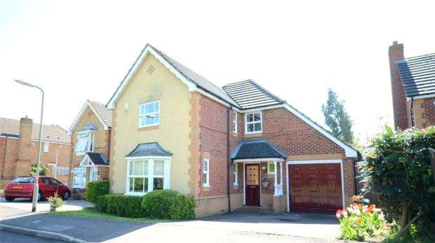 4 Bedrooms Detached House for sale in Warbler Drive, Lower Earley, Reading