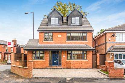 4 Bedrooms Detached House for sale in Fairfield View, Booth Road, Audenshaw, Manchester