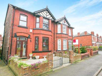 4 Bedrooms Semi Detached House for sale in Cheadle Old Road, Stockport, Greater Manchester