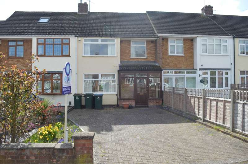 3 Bedrooms Terraced House for sale in Ashbridge Road, Allesley Park, Coventry, CV5