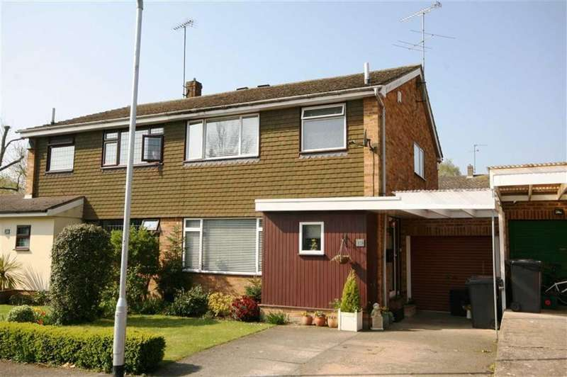 3 Bedrooms Semi Detached House for sale in White Hart Close, Buntingford