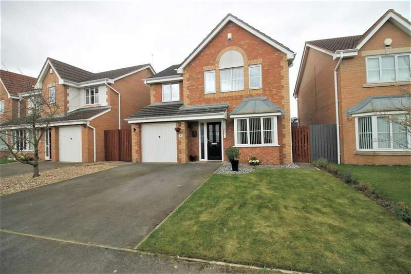 4 Bedrooms Detached House for sale in West End Way, Stockton-On-Tees