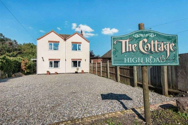 4 Bedrooms Detached House for sale in The Cottage High Road Burgh Castle