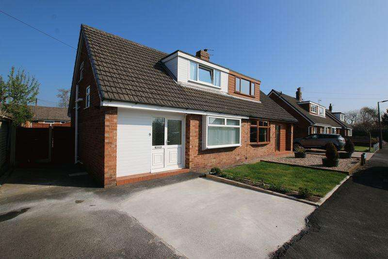 3 Bedrooms Semi Detached House for sale in Knot Acre, New Longton