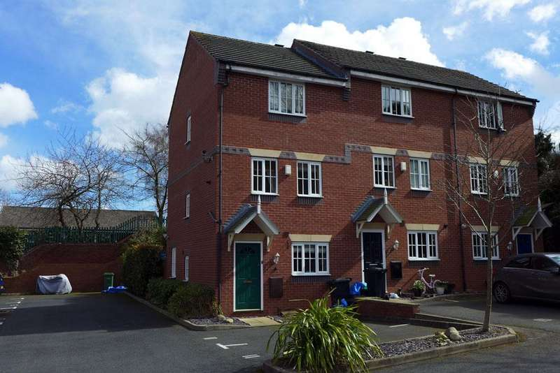 3 Bedrooms Town House for sale in Chapelfield Mews, Stourbridge