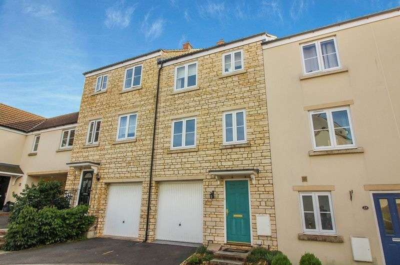 4 Bedrooms Terraced House for sale in Slipps Close, Frome