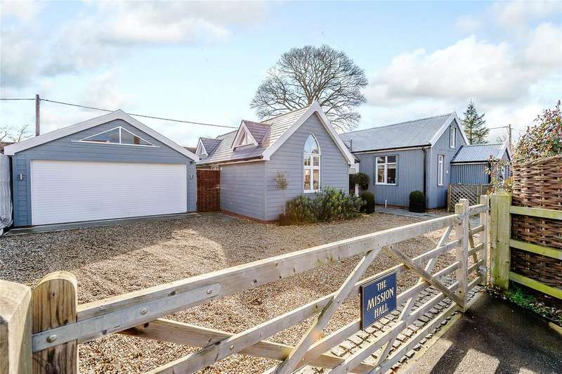 3 Bedrooms Detached House for sale in The Green, Pettaugh, Stowmarket, Suffolk