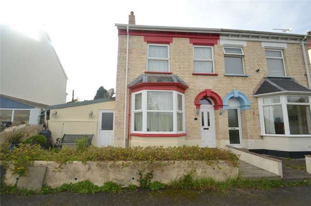 2 Bedrooms Semi Detached House for sale in STICKLEPATH, Barnstaple