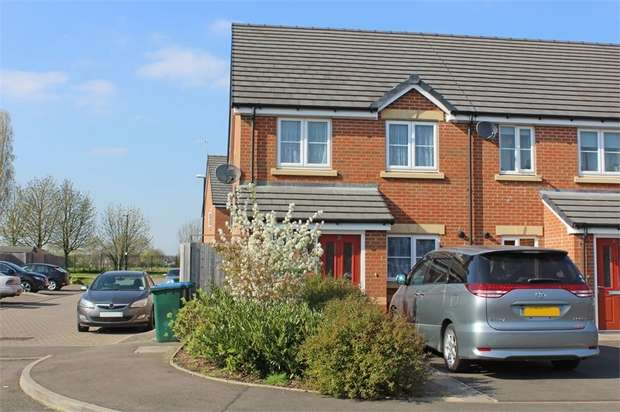3 Bedrooms End Of Terrace House for sale in Avocet Close, Aldermans Green, Coventry, West Midlands
