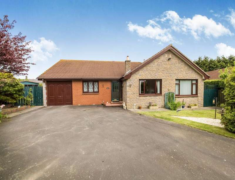 4 Bedrooms Detached Bungalow for sale in Bamburgh Court, Chathill, NE67