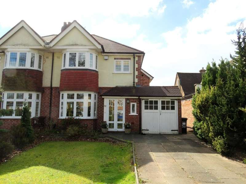 3 Bedrooms Semi Detached House for sale in Widney Lane, Solihull