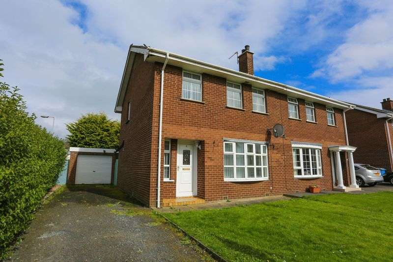 3 Bedrooms Semi Detached House for sale in 2 New Helmsley, Moira