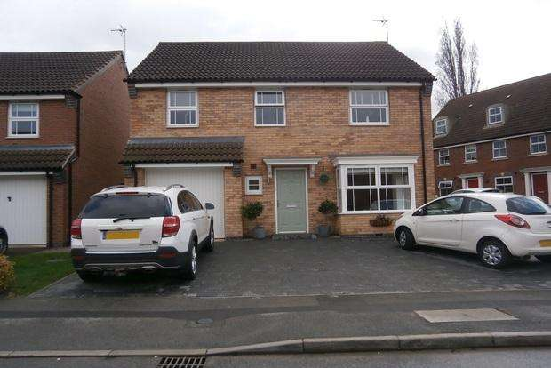4 Bedrooms Detached House for sale in Percival Way, Groby, Leicester, LE6