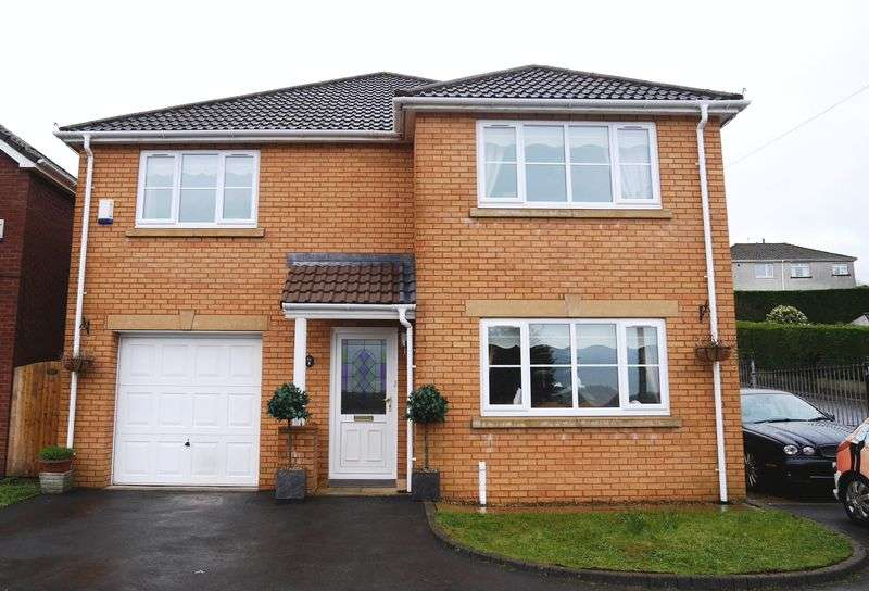 4 Bedrooms Detached House for sale in Oaktree Close, BRYNNA Llanharan CF72 9GT