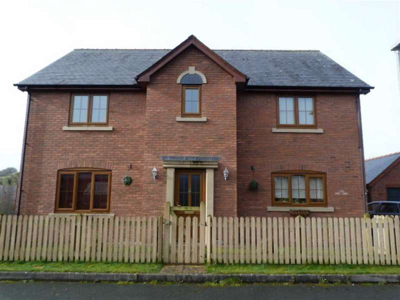 4 Bedrooms Detached House for sale in Maes Llwyn Celyn, Trefeglwys, Caersws