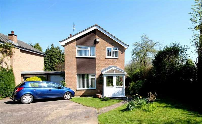 3 Bedrooms Detached House for sale in Nicholson Webb Close, Llandaff, Cardiff