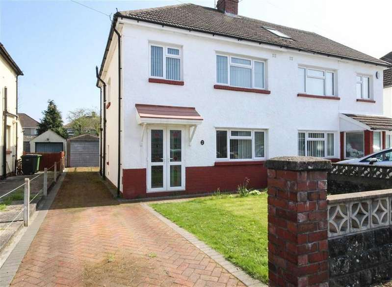 3 Bedrooms Semi Detached House for sale in Heol Coed Cae, Cardiff