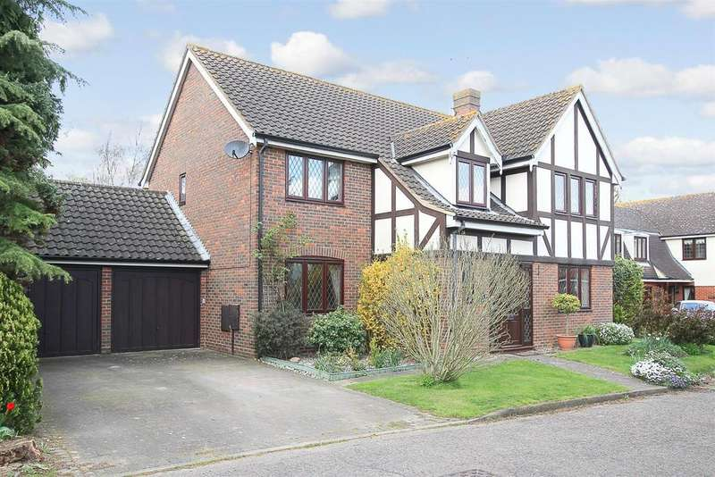 5 Bedrooms Detached House for sale in Warwick Place, Coxtie Green Road, Brentwood