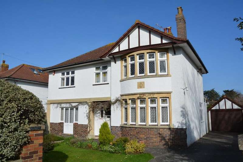 4 Bedrooms Detached House for sale in Uphill Road South, Weston-super-Mare
